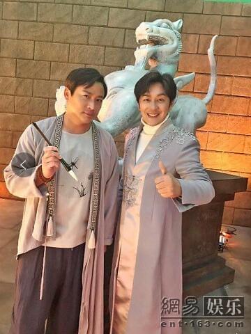 江宏恩赴江西拍新戏 乐与师兄陈浩民合作