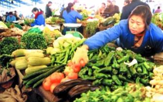 三门峡市年后菜价稳中降 新上水果受欢迎