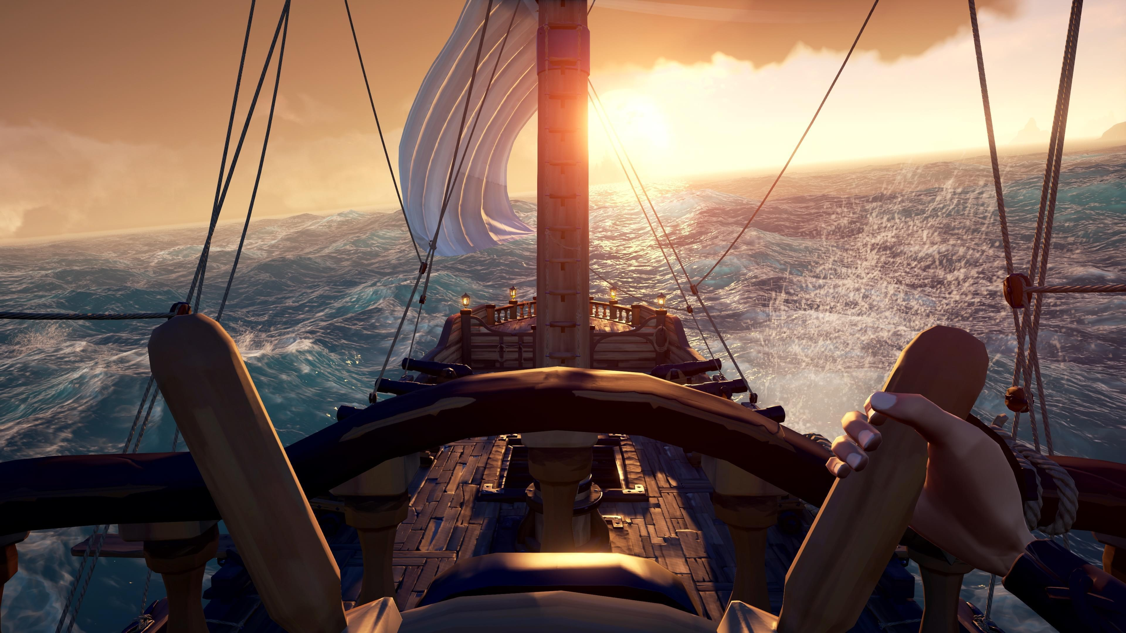 微软相助《绝地求生》将免费用贼海的水面技术