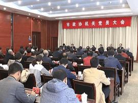 市政协机关召开党员大会 传达学习十九大精神