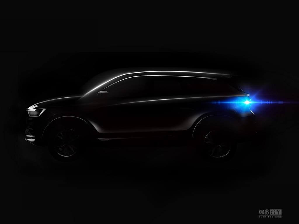 或命名斯威X9?曝斯威汽车全新SUV预告图