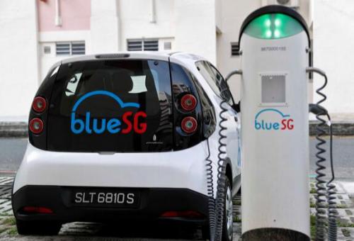 每分钟1.6元 新加坡共享电动汽车上路