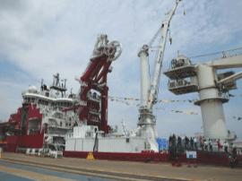 国内首套深水软铺系统在漳州开发区交付