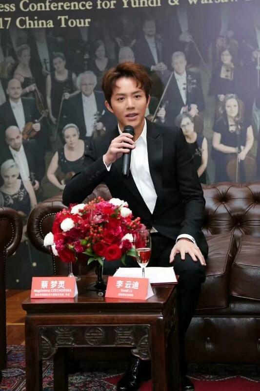 钢琴家李云迪现身发布会正式拉开中国巡演序幕