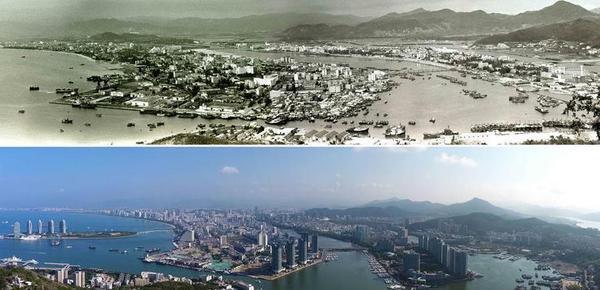历史老照片!图说海南城市变迁