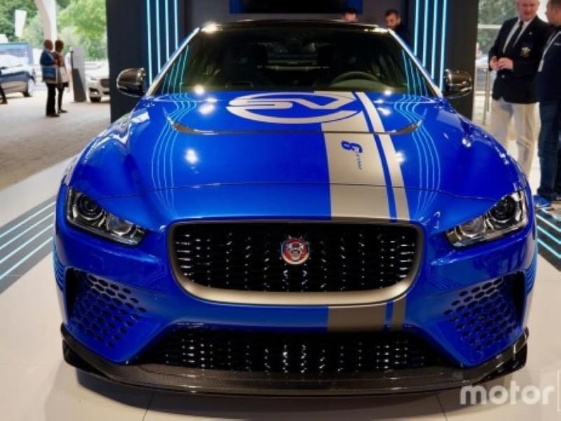 车不大/动力不小 捷豹发布史上最强劲车型