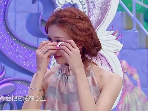 林志玲拍哭戏有秘密武器 哭到崩溃吓傻蔡康永