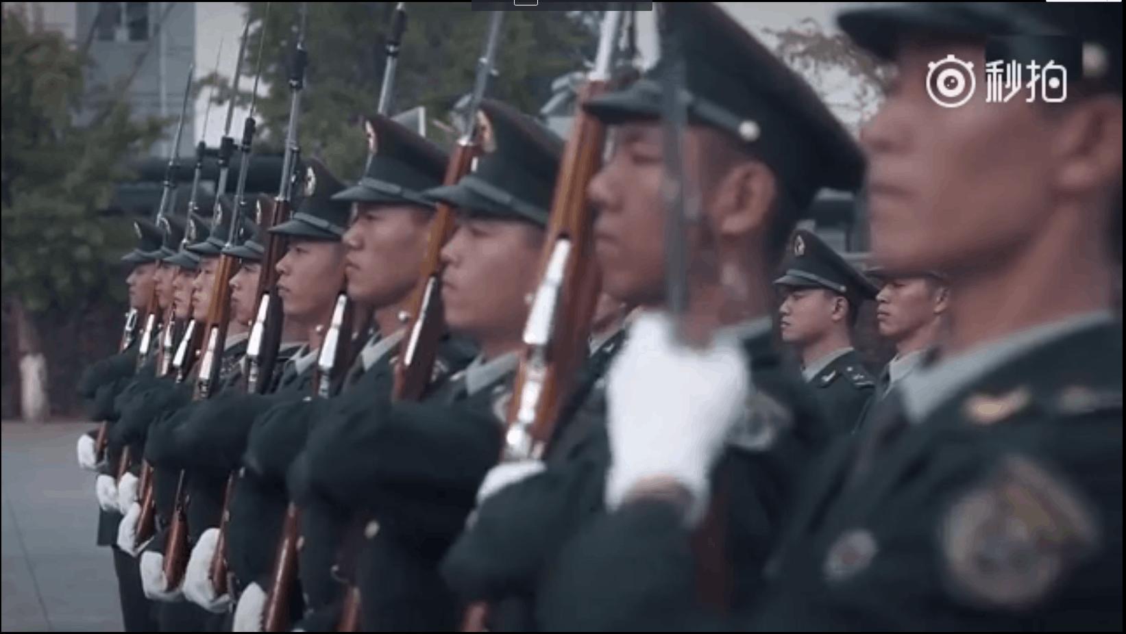 三分钟领略中国三军仪仗队风采