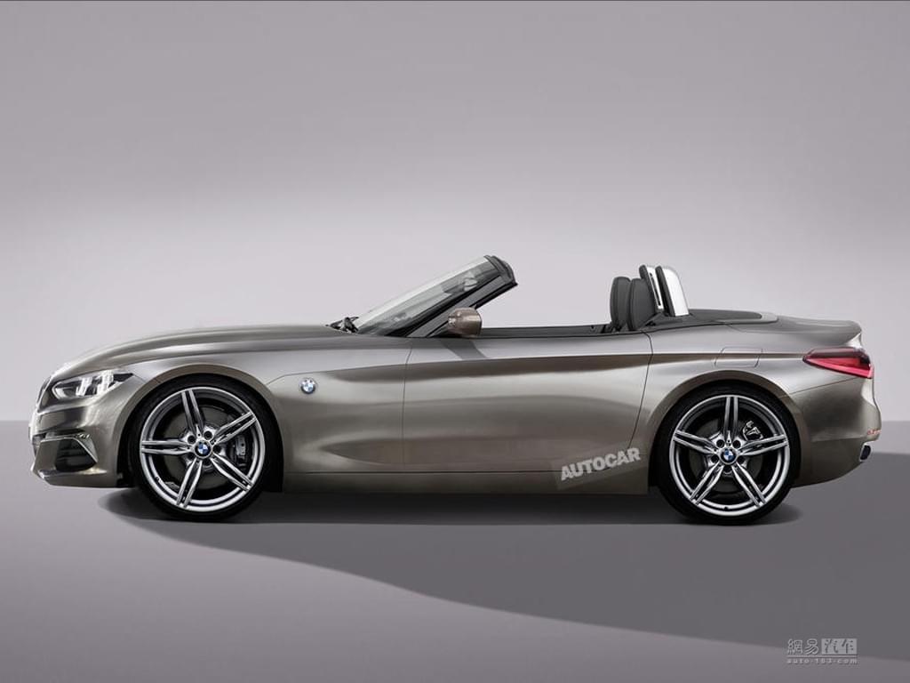 可算是来了 宝马新一代Z4概念车8月发布