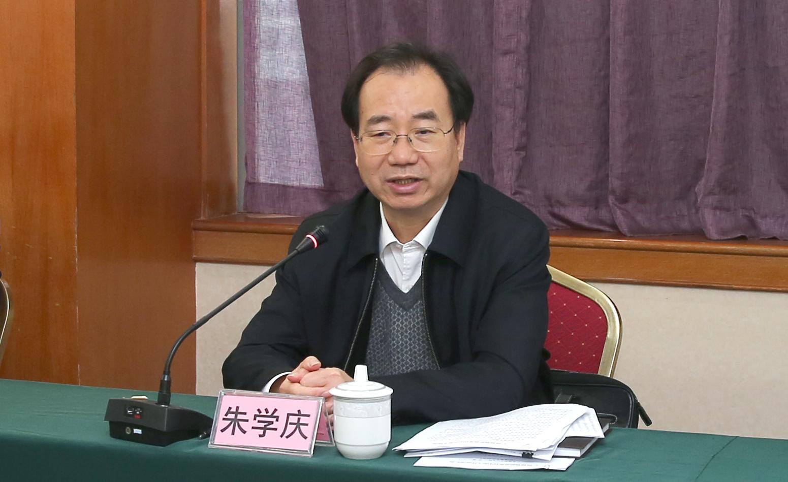 区民政厅党组书记朱学庆赴广西福彩中心指导工作