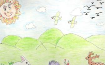 朗小诗有氧儿童计划画展开幕:绿色梦想 环保种子植心田