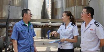 安次区地税局开展水资源税核查调研