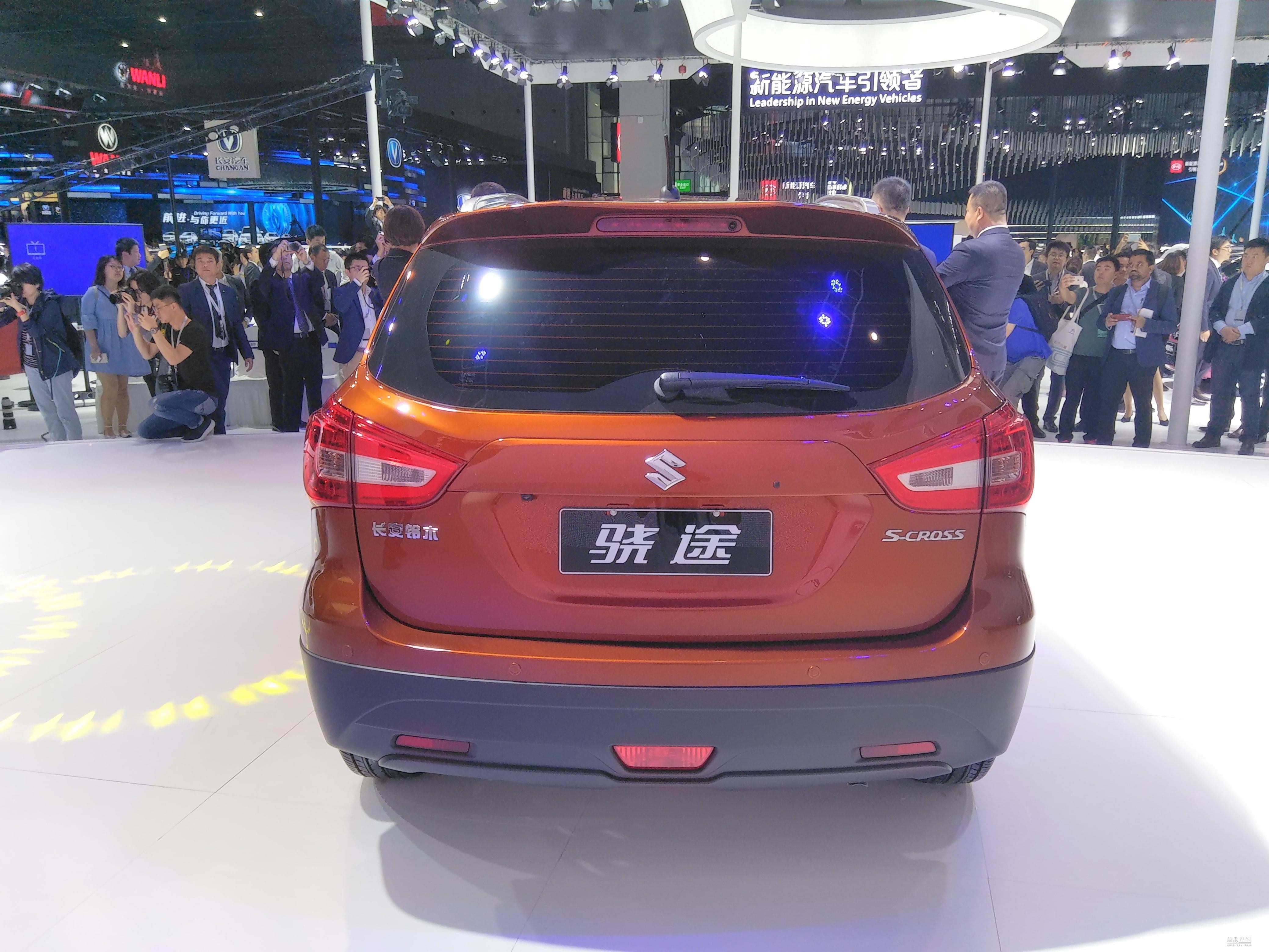 2017上海车展:长安铃木骁途发布