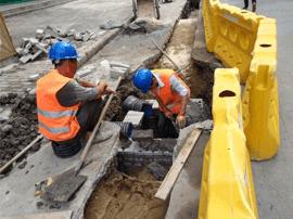 淄博经开区张周路雨污水等工程即将改造