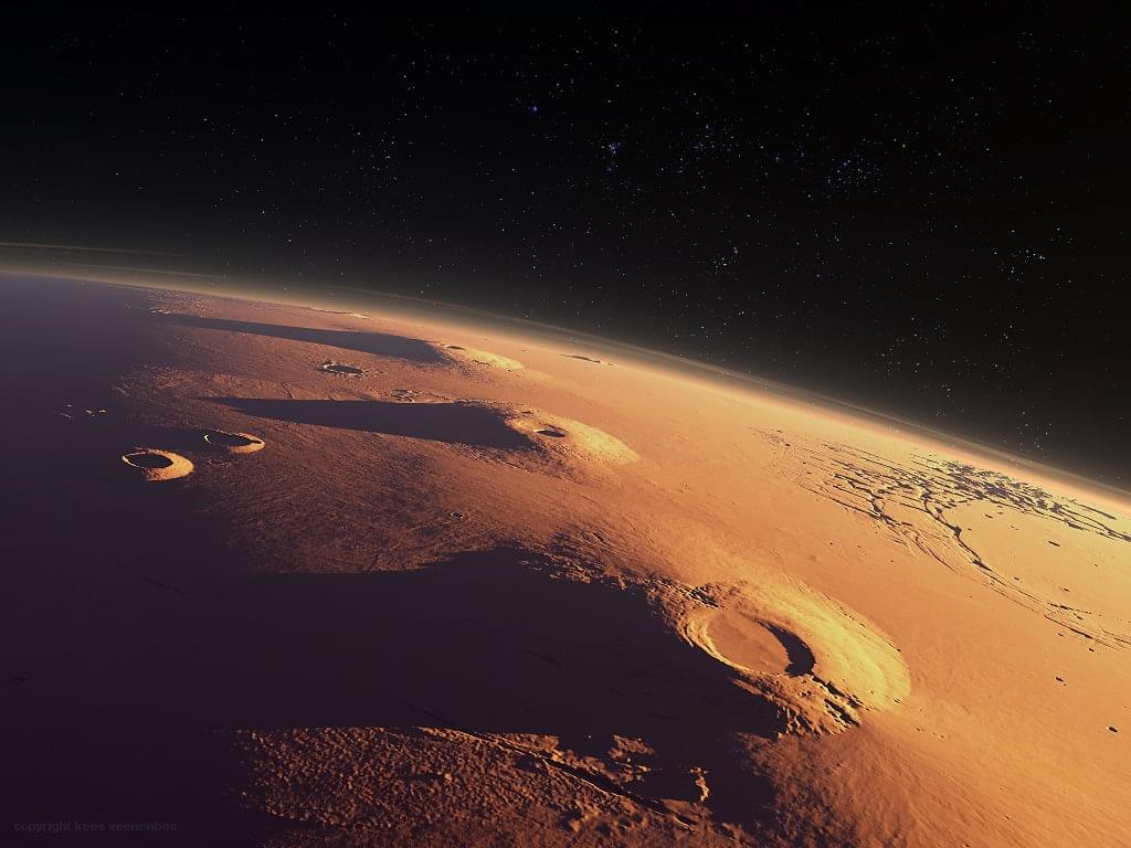 """5000万年前,火星火山开启""""静音模式"""""""