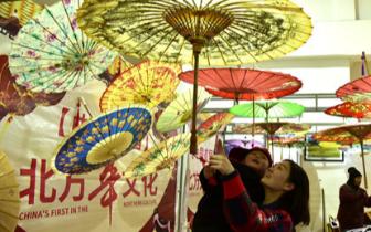 春节期间 中国北方年文化节在涉县举办