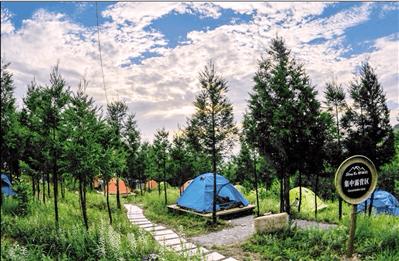 盛夏的清凉 | 露营云阳锣鼓宕 有星空有鸟鸣 还有美食