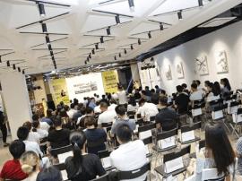 联众合力智创甬城 WEPLUS宁波文化广场空间正式揭幕