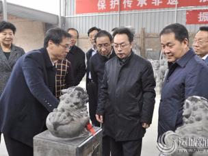 """运城市代市长调研新绛""""五小企业""""计划实施情况"""