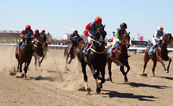内蒙古少数民族传统体育运动会比赛精彩不断