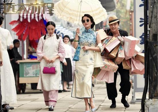 李念《远大前程》预告曝光 戏服名伶造型惊艳