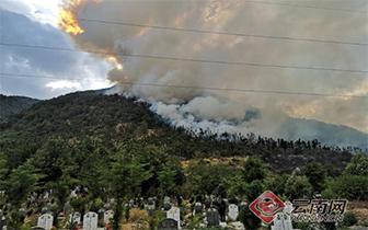 大理连发三起森林火灾 夏季高温防火不能麻痹大意
