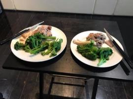 一个月狂瘦5.5公斤!小S夫妻晚餐菜单看哭网友
