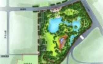 阜阳东南近郊这处大型公园年底完工可赏美景了