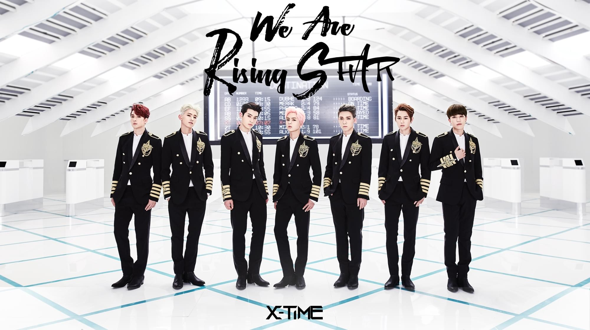 X-TIME首张EP重磅上线七子合体召唤新成员