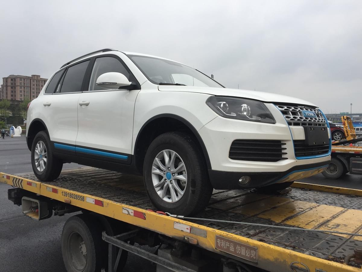 2017上海车展探馆:野马汽车T70 EV现身