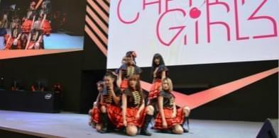 超元气女团CherryGirls现身梦幻谷电竞嘉年华