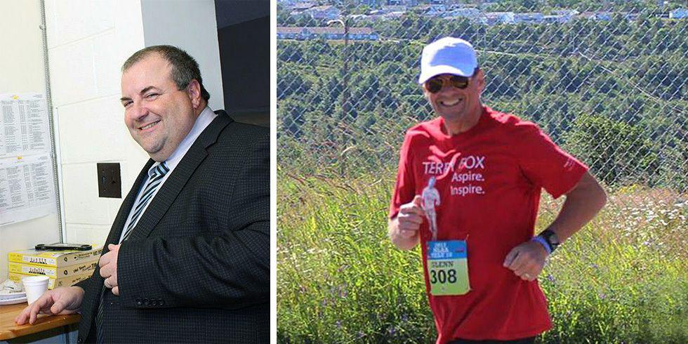 患食道癌的飞行员 跑步3年减肥154斤
