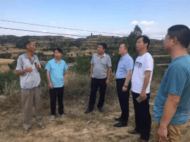 闻喜人社局局长郭永明在吕庄村开展驻村帮扶工作
