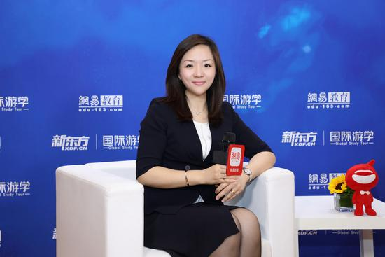 新东方教育科技集团助理副总裁、新东方国际游学推广管理中心CEO刘婷