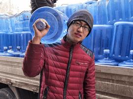 运城送水工王贤圣: 盼望市民对我们多些宽容