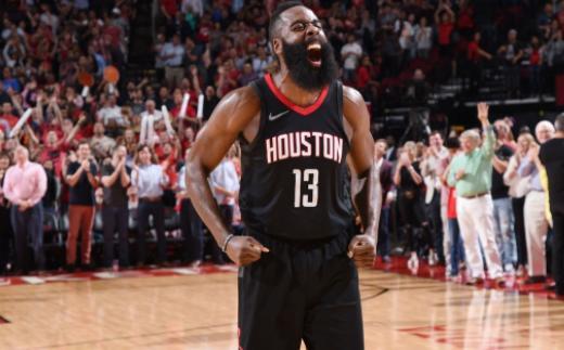 NBA-谁能打破乔丹季后赛单场63分纪录?博彩公司:火箭哈登!