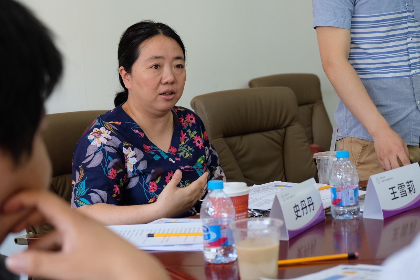 清华大学体育产业发展研究中心主任王雪莉