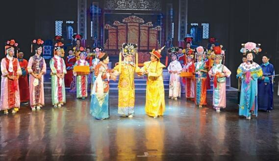 喜迎十九大 汉剧《光绪与珍妃》即将在荆州公演