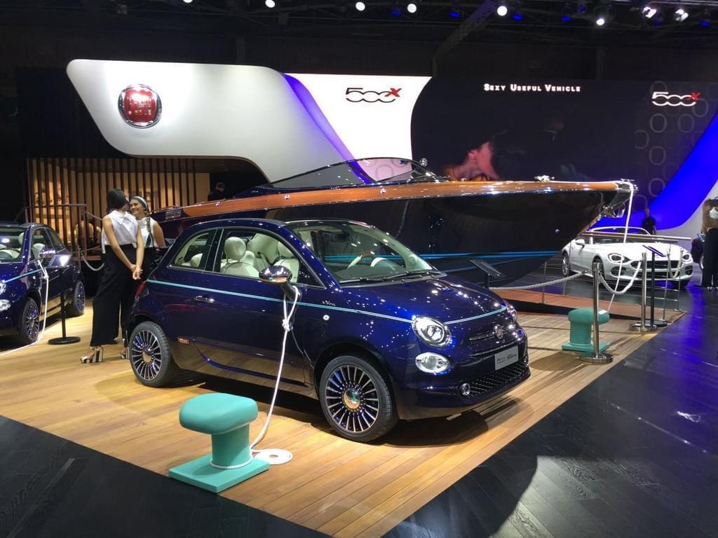 限量500台 菲亚特500 Riva巴黎车展发布