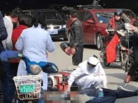 突发!福州金鸡山隧道大巴拖行电动车 男子身亡