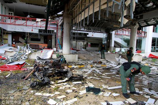 泰国南部省份的旅馆发生炸弹爆炸事件,在这里旅游还是要慎重/视觉中国