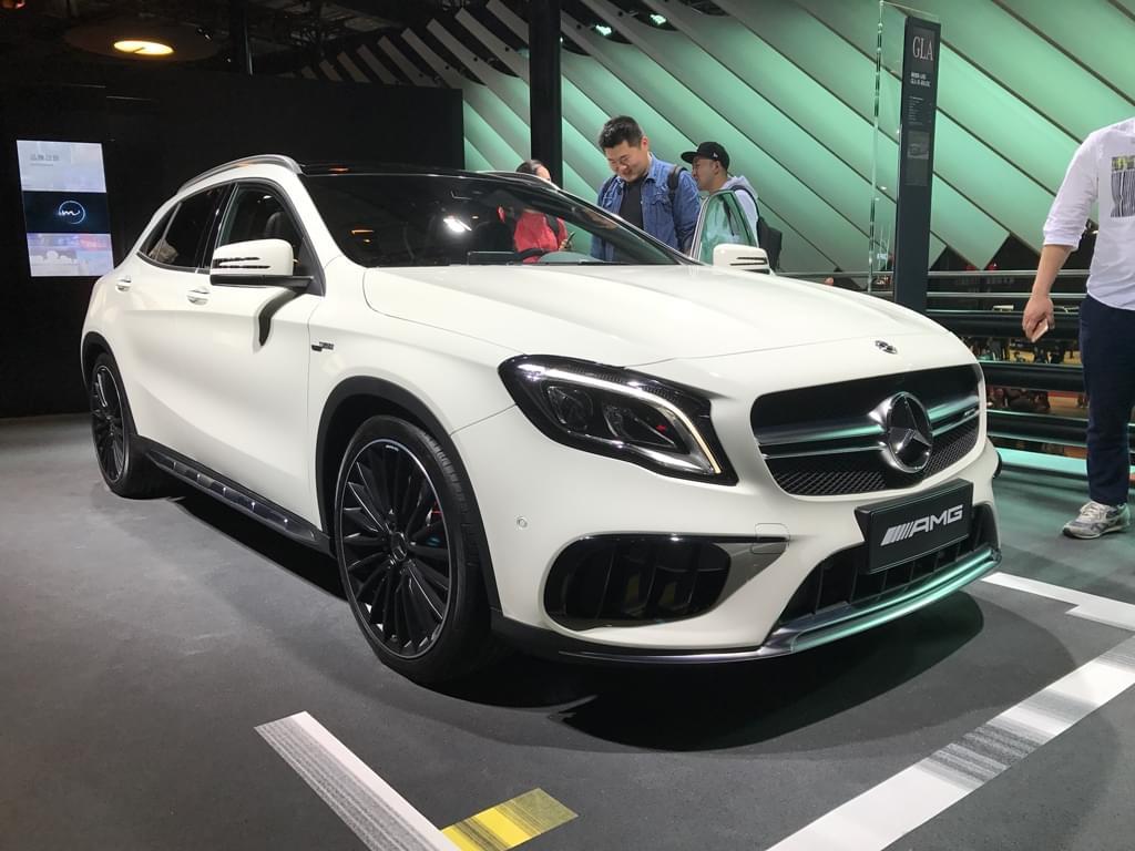 2017上海车展:AMG GLA 45 4MATIC正式发布