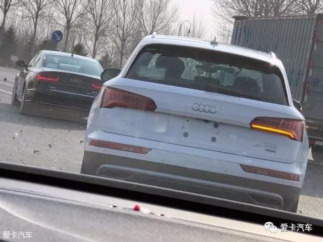 国产奥迪全新Q5L实车照曝光,预计明年初上市!