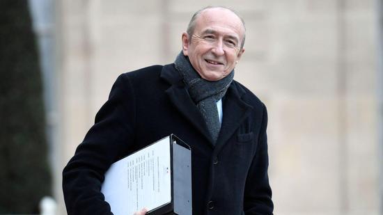 法国内政部长科隆。(图片来源:法新社)