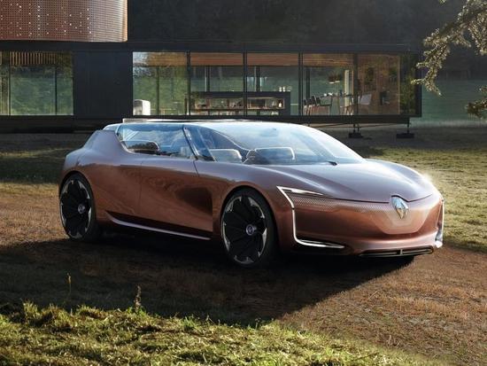 寓意共同生活 雷诺SYMBIOZ概念车发布