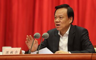 陈敏尔:加强党对机构改革的全面领导