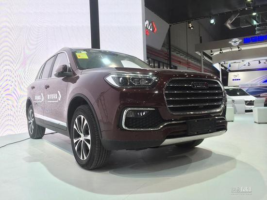 2017上海车展探馆:野马T80实车展前曝光