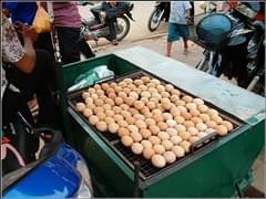 柬埔寨特色烤鸡蛋