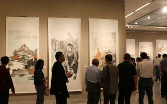 思明区庆祝改革开放40周年艺术展开幕