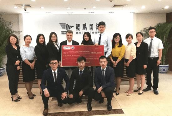 佛州特许学校系列项目律师访问鲲鹏国际庆祝一期项目成功还款